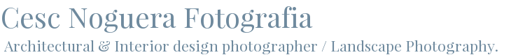 Cesc Noguera Photography - When photography is a passion