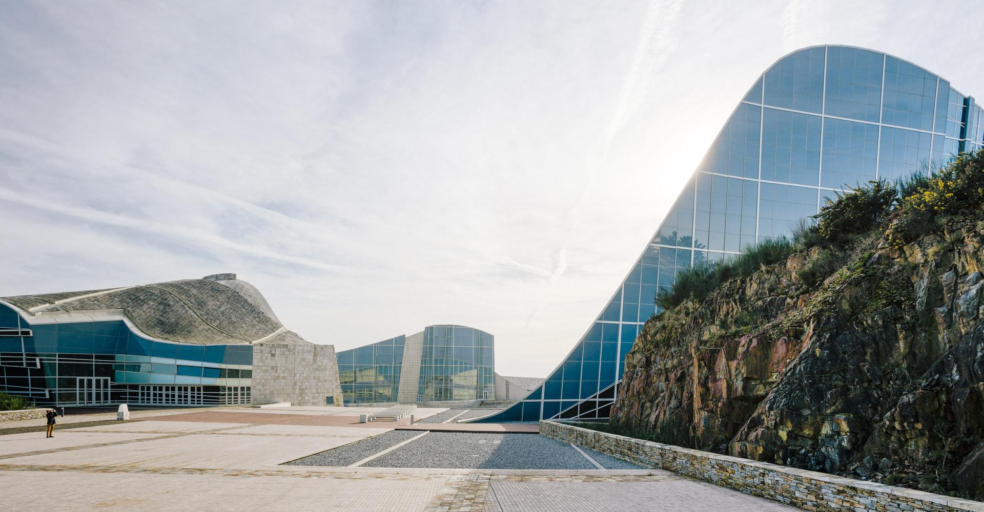 fotografía de arquitectura, galicia, cidade da cultura