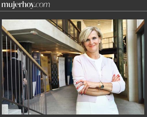 María Neira en el Colegio de Arquitectos