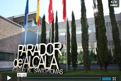 Entrada al Parador de Alcalá de Henares
