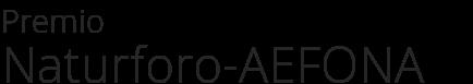 Premio - Naturforo-AEFONA