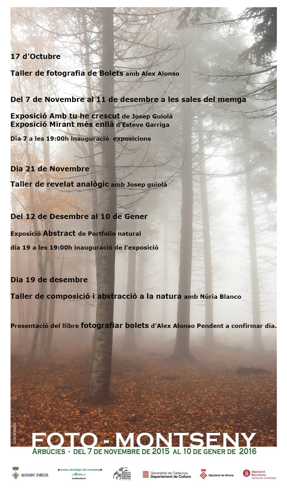 Activities PHOTO-MONTSENY 2015