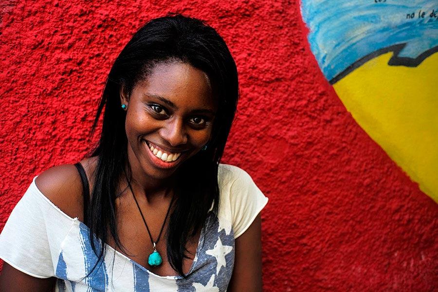 beautiful cuban girl in havana in my photography guided tours in cuba