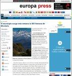 Fotografía en Europa Press sobre la Semana de la Montaña de Villaviciosa