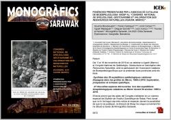 Sarawak. Exploracions i Geografia