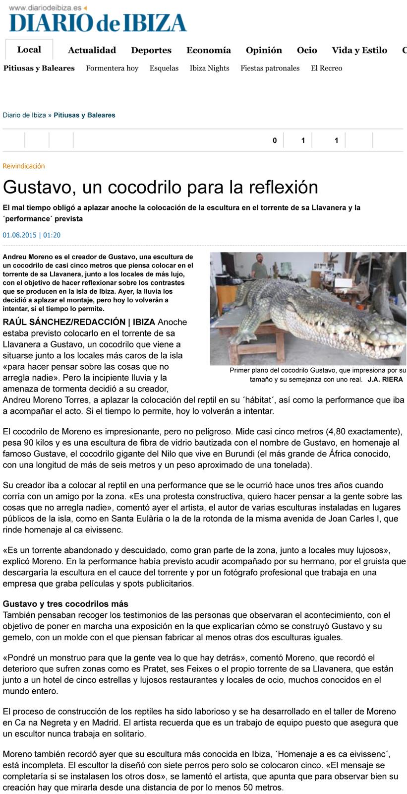 Diario de Ibiza 1 de agosto 2015