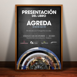 Cartel de la presentación elaborado por Victor Rodrigo