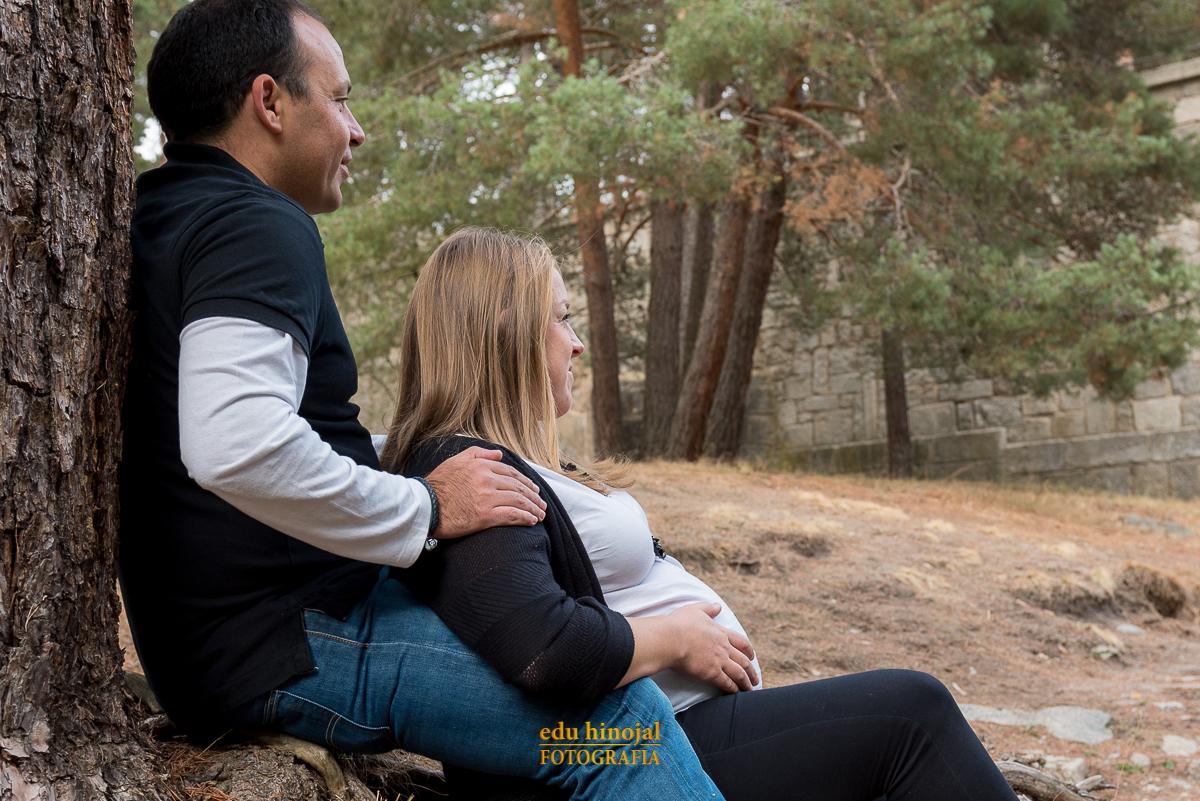 Sesión fotográfica para embarazadas.