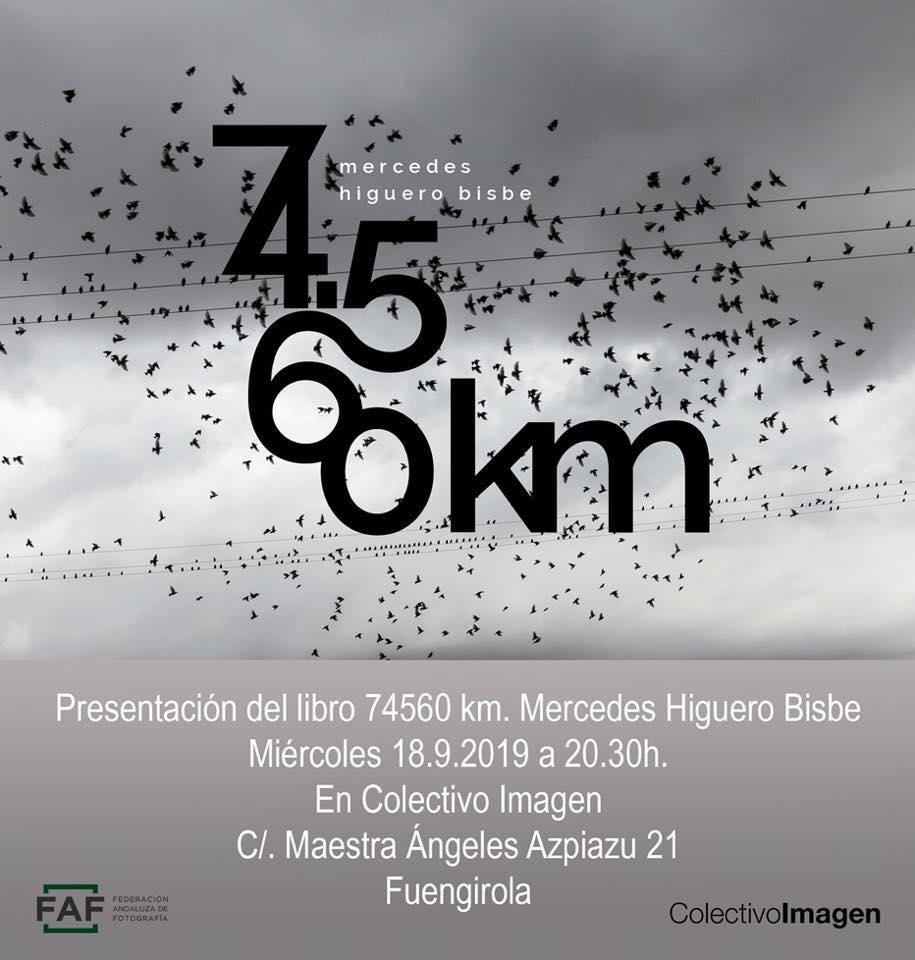 Presentación del libro 74.560 km de Mercedes Higuero Bisbe