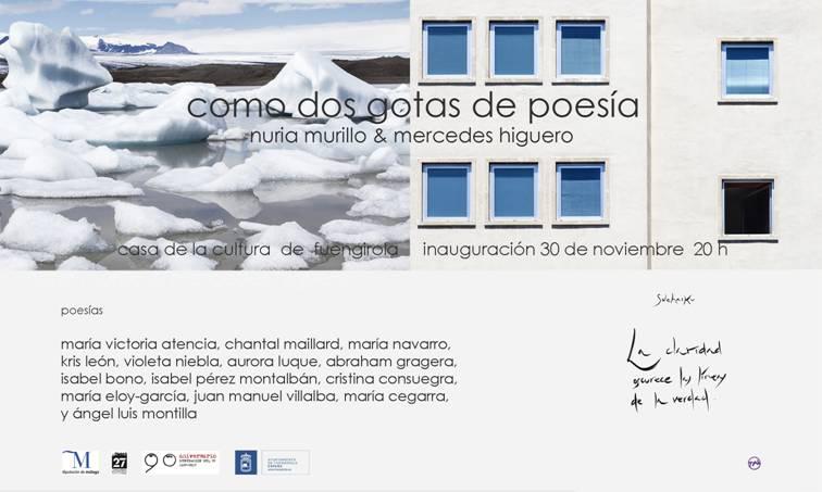 Inauguración 30 de Noviembre a las 20h00