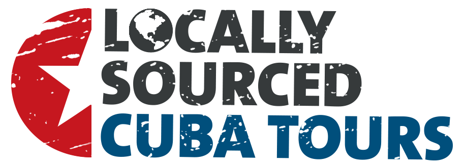 locally sourced cuba photo tours travel agency , logotype