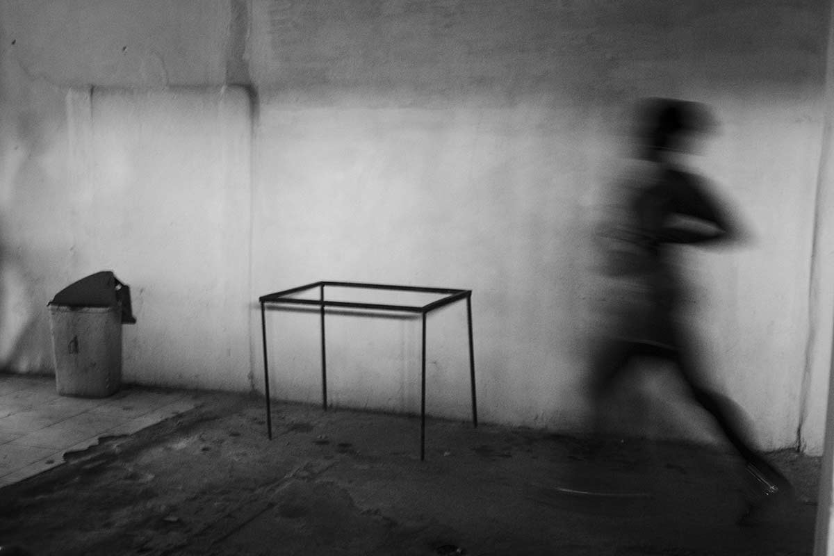 a ghost running in havana : conceptual photography in cuba