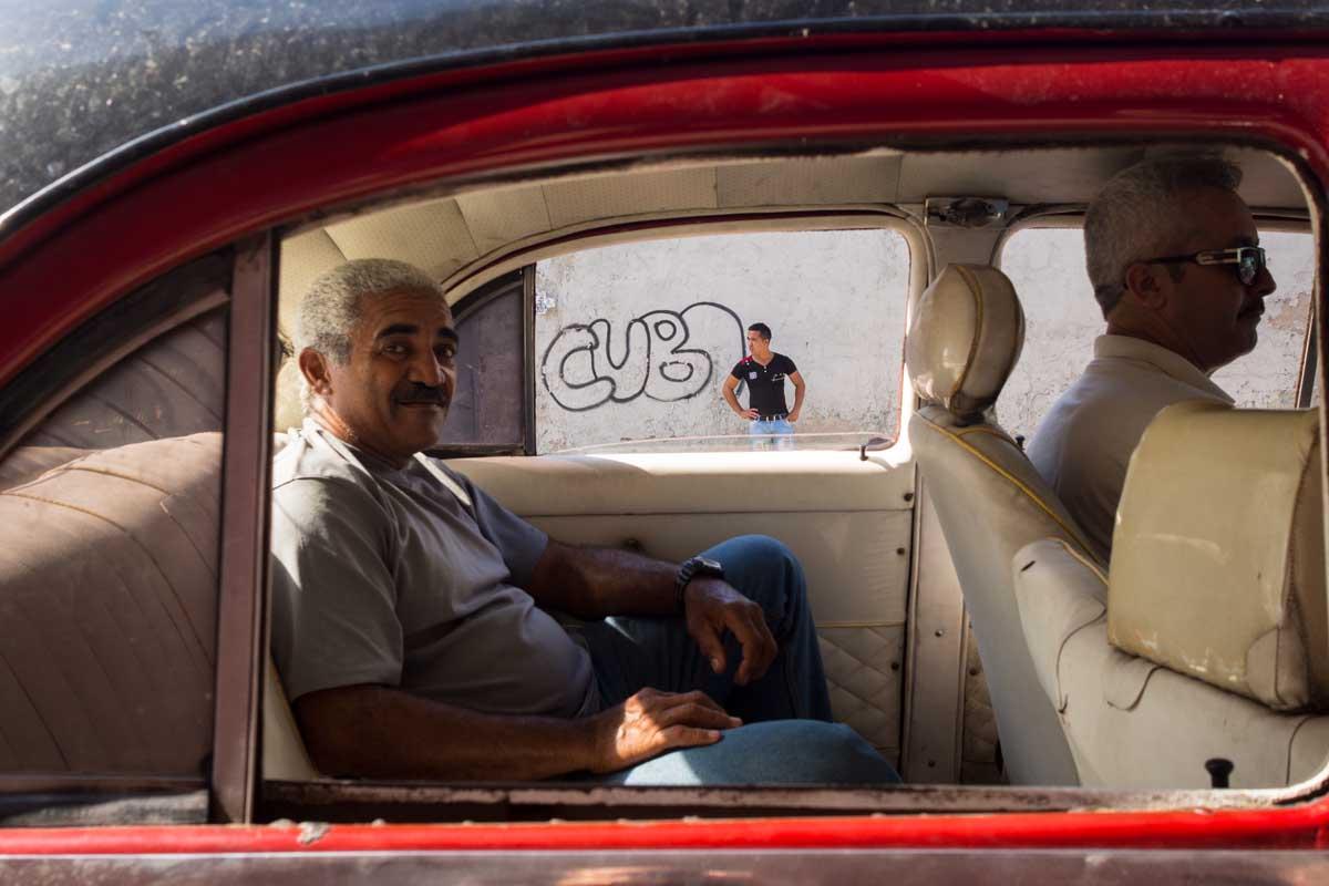 cuban taxi window