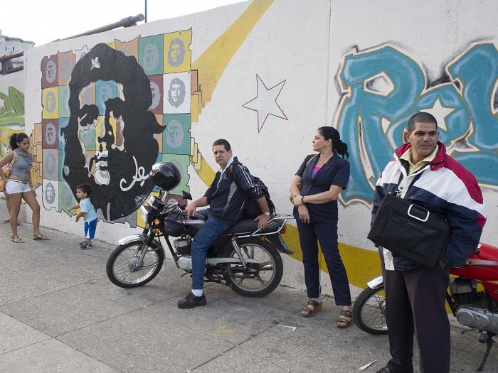 Graffiti of Che Guevara in Havana