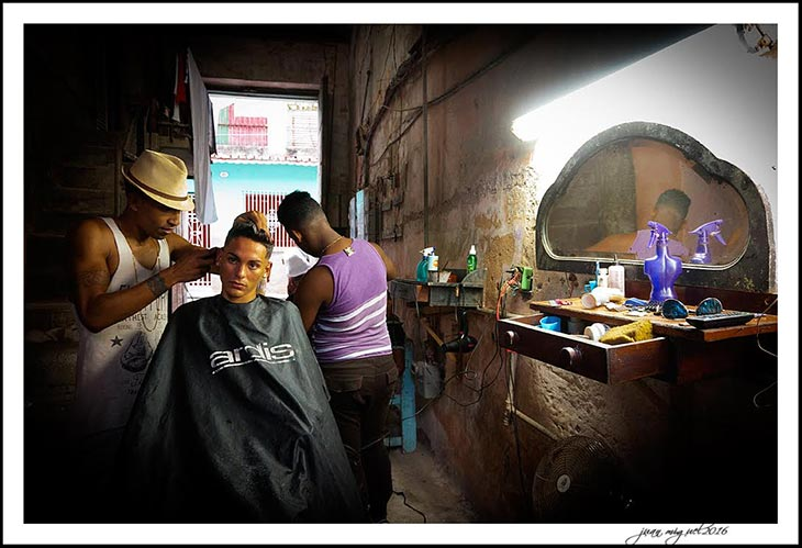hair dressers in havana a special photo taken in our photography adventure