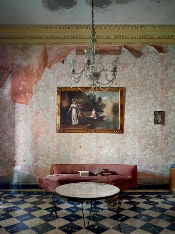 old decoration in old colonial house in Cuba by Michael Eastman