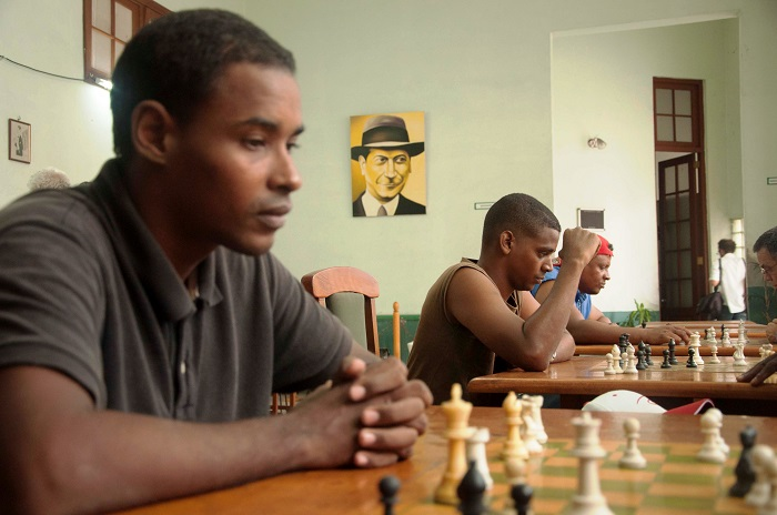 chess players in havana. Club capablanca best location to take photo of chess players