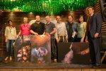 Podium del concurso de la cadena de restaurante Tierra Astur
