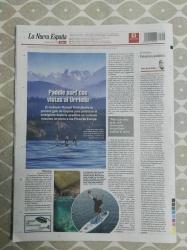 """Por la publicación del Libro """"Stand Up Paddle Surf alrededor de los Picos de Europa""""."""
