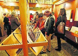 La exposición se inauguró anoche y permanecerá abierta hasta el 5 de enero / J. A. Riera