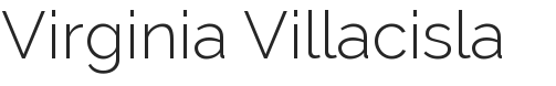 Virginia Villacisla -